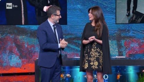 Che Tempo che Fa - Fabio Fazio e Virginia Raffaele