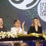 Conferenza stampa, Sanremo 2019. Papaleo, Foglietta, Marchetto