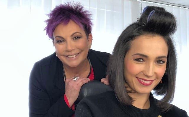 Donatella Milani e Caterina Balivo