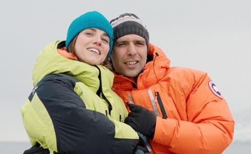 Eleonora Giovanardi e Checco Zalone in Quo Vado?