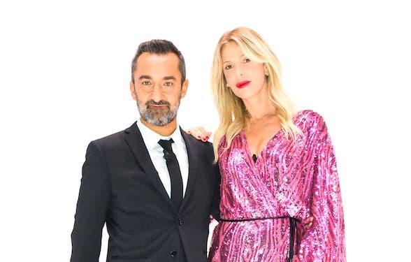 Nicola Savino e Alessia Marcuzzi. Nicola Savino e Alessia Marcuzzi. Rai1 f38dac7e2ab