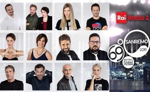 Rai Radio2 a Sanremo 2019