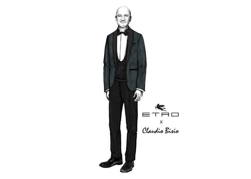 Sanremo 2019 - Etro per Claudio Bisio