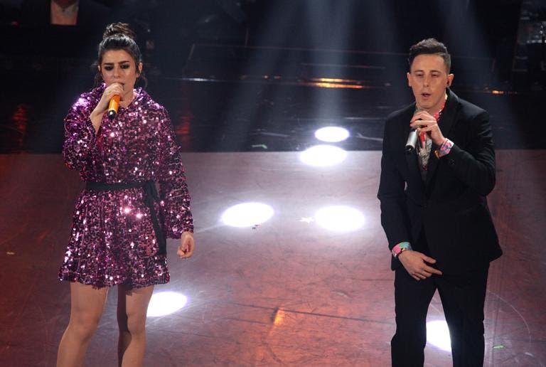 Sanremo 2019 carta e  shade