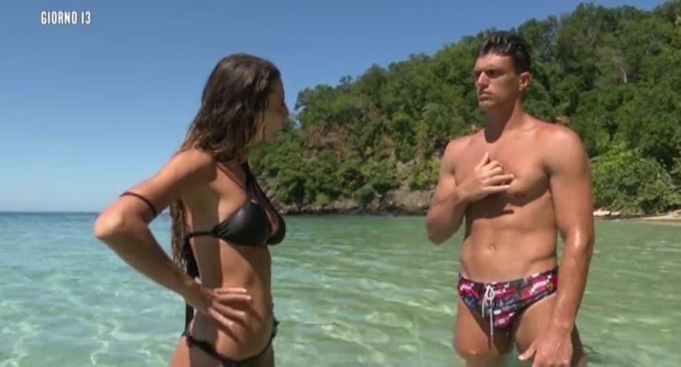 Sarah Altobello e Yuri Rambaldi - Isola dei Famosi 14
