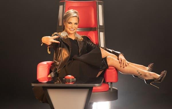 Simona Ventura - The Voice