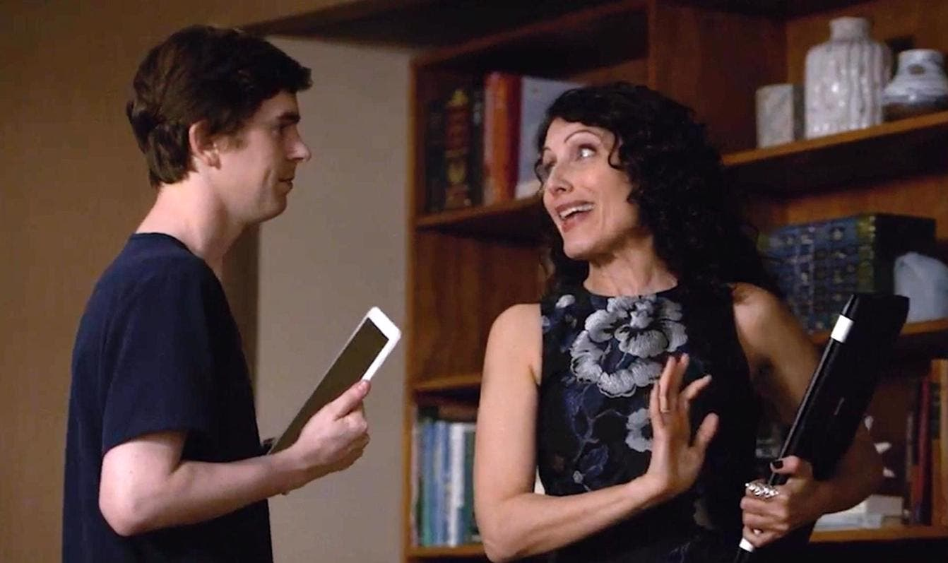 The Good Doctor - Freddie Highmore e Lisa Edelstein