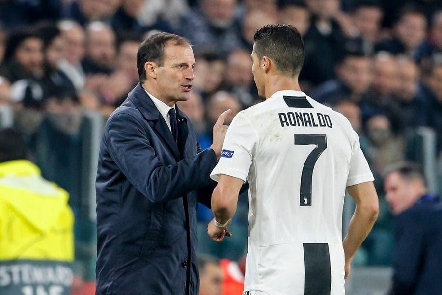 Allegri e Ronaldo