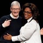 Apple, Tim Cook e Oprah Winfrey