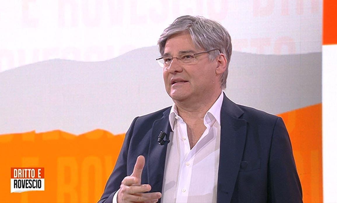 Dritto e Rovescio |  Del Debbio si evolve tra politica e racconto «on the road»
