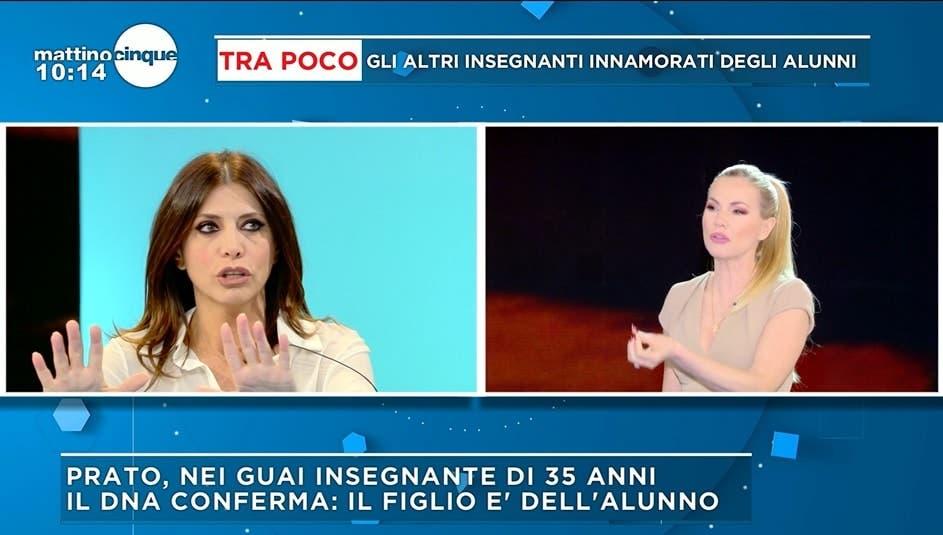 Emanuela Tittocchia a Mattino Cinque