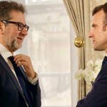 Fabio Fazio, Emmanuel Macron
