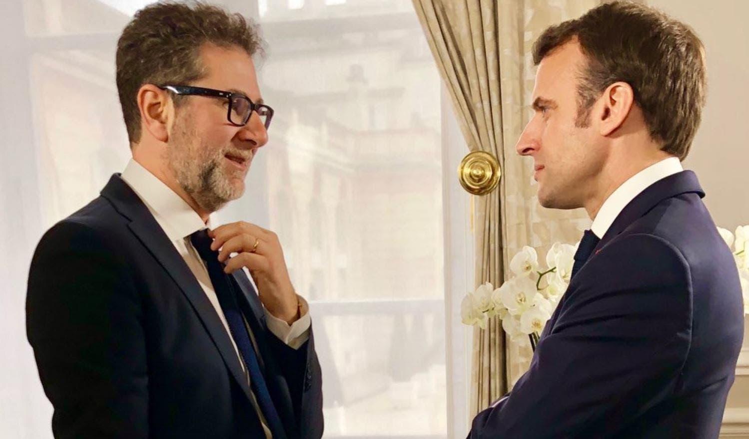 6242c2b1347ef0 Fazio intervista Macron a Che Tempo Che Fa | DavideMaggio.it