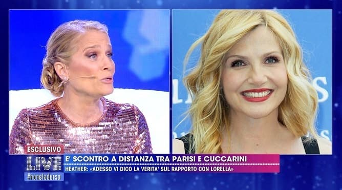 Heather Parisi a Live - Non è la D'Urso