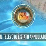 Isola - Televoto Annullato
