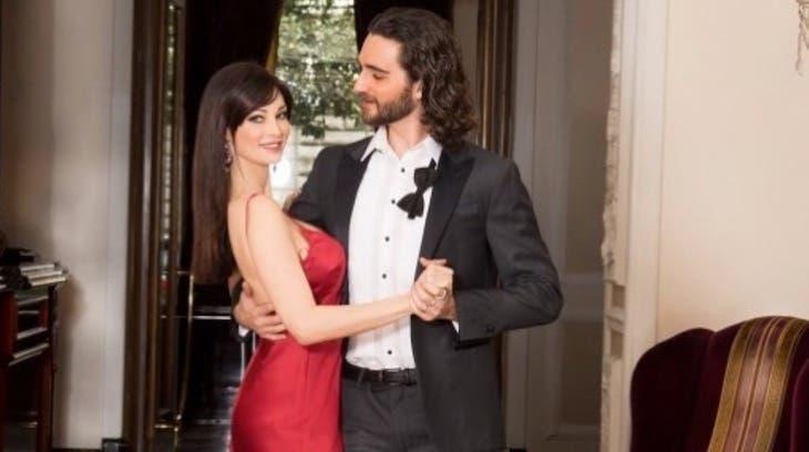 Manuela Arcuri e Luca Favilla