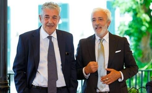 Marzio Honorato (Renato) e Patrizio Rispo (Raffaele) in Un Posto al Sole