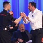 Matteo Salvini, Mahmood al Maurizio Costanzo Show