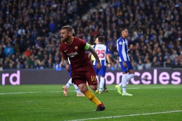 Porto-Roma - Daniele De Rossi (da Twitter)