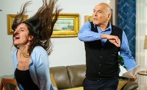 Sara Ricci (Adele) e Paolo Maria Scalondro (Manlio) in Un Posto al Sole