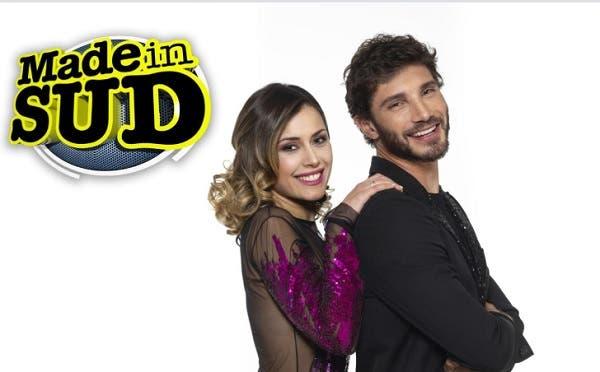 Stefano De Martino con Fatima Trotta