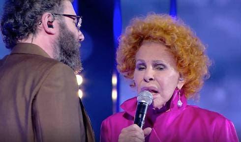 Paolo Vallesi e Ornella Vanoni