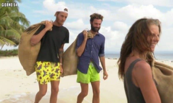 Aaron, Luca, Marina