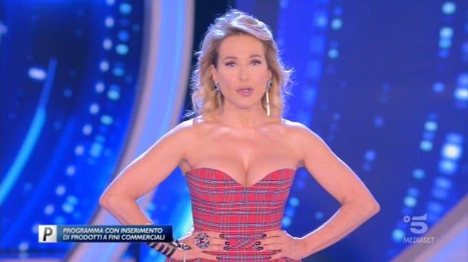 Barbara D'Urso - Quarta puntata GF 16