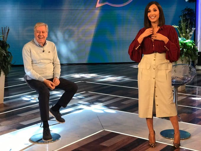 Claudio Lippi e Caterina Balivo - Vieni da Me