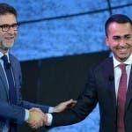 Fabio Fazio e Luigi Di Maio