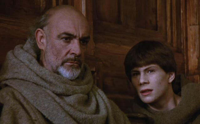 Il Nome della Rosa - Sean Connery e Christian Slater