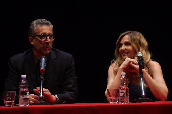 Lucio Presta e Lorella Cuccarini
