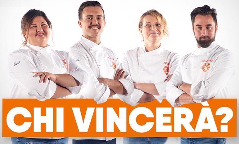 MasterChef 8 - I finalisti Valeria, Gilberto, Gloria e Alessandro