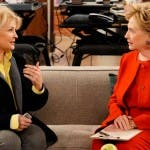 Murphy Brown, Hillary Clinton