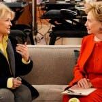 Murphy Brown, Hillary Clinton