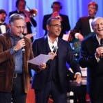 PAOLO BONOLIS, CARLO CONTI E GERRY SCOTTI