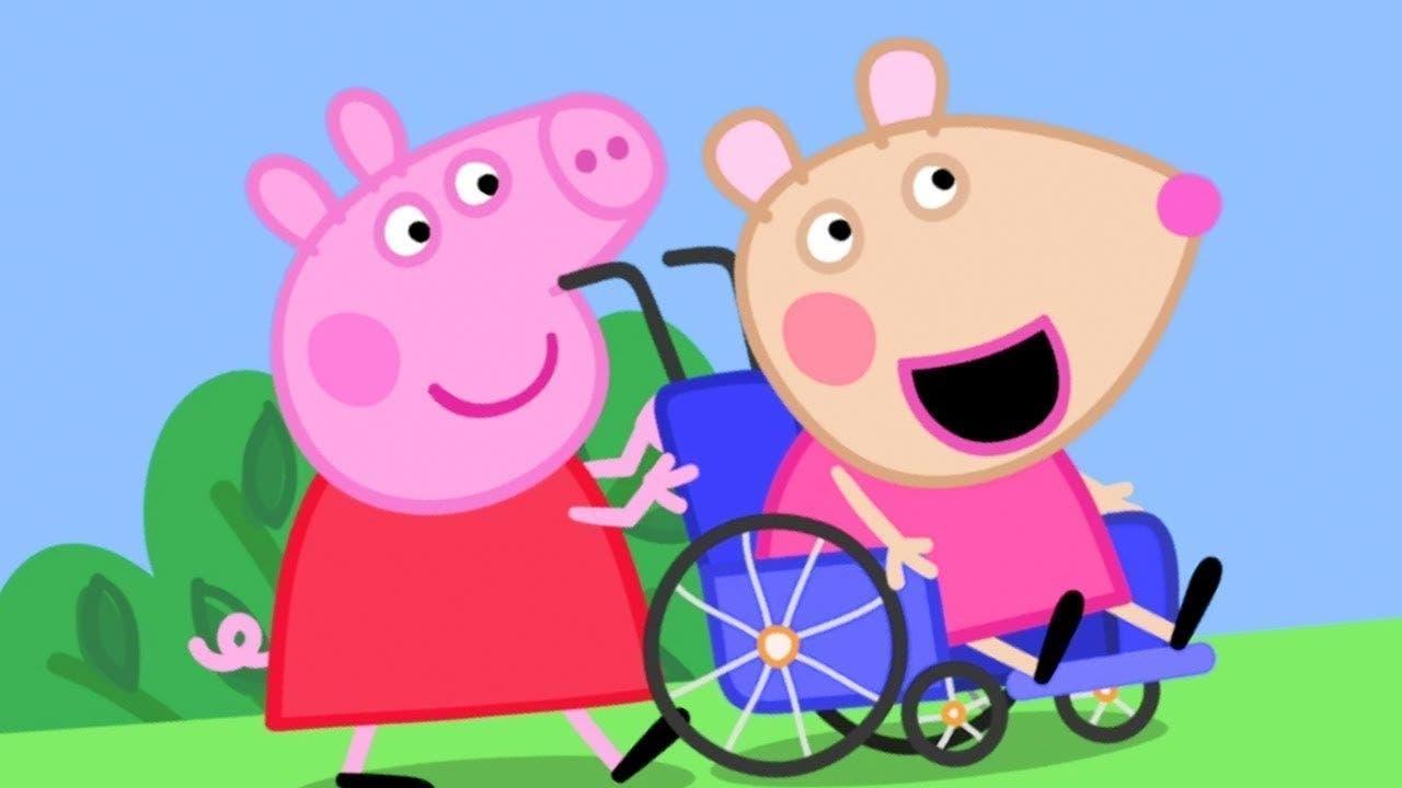 Peppa Pig e Mandy Topolina
