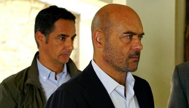 Peppino Mazzotta e Luca Zingaretti
