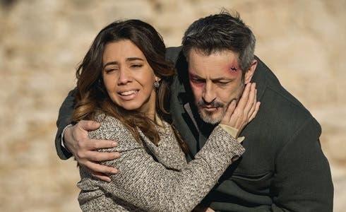Alfonso (Fernando Coronado) ed Emilia (Sandra Cervera) in Il Segreto
