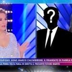 Barbara D'Urso al telefono con Caltagirone - Live