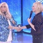 Maria De Filippi e Mara Venier ad Amici