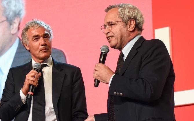 Massimo Giletti ed Enrico Mentana