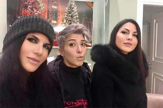 Pamela Prati, Pamela Perricciolo ed Eliana Michelazzo