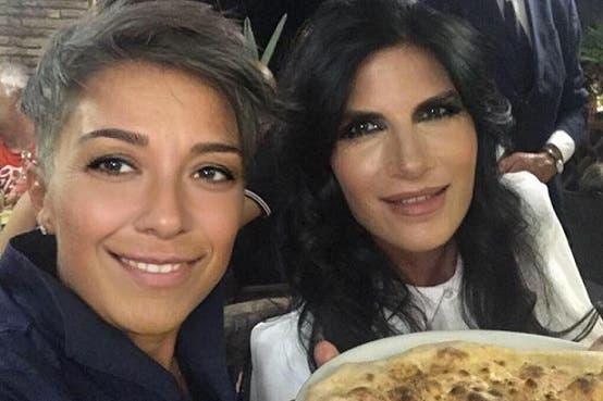 Pamela Prati con Pamela Perricciolo