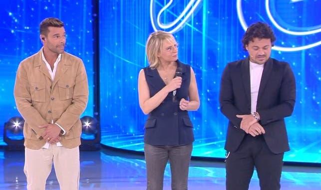 Ricky Martin, Maria De Filippi, Vittorio Grigolo - Amici 2019