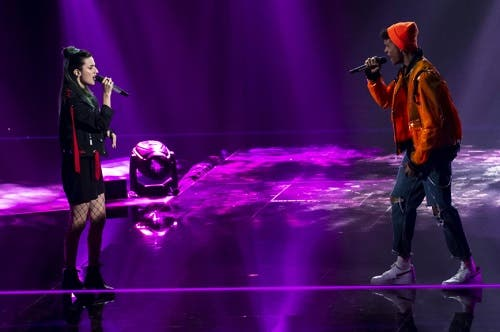 Violet VS Diablo - The Voice 2019