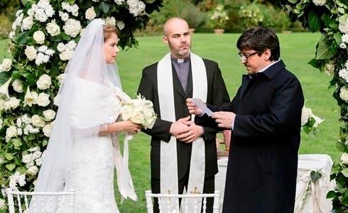 Andrea Osvart e Ricky Memphis in Un Matrimonio da Favola
