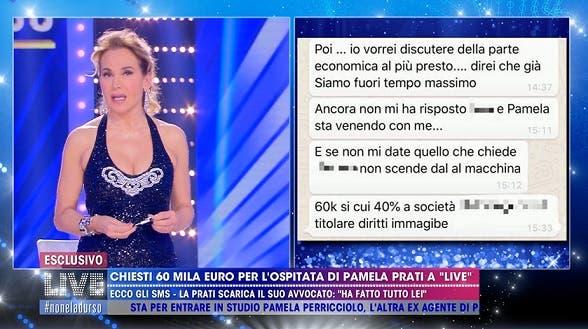 Barbara mostra i messaggi di Irene Della Rocca - Live