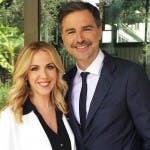 Lisa Marzoli e Beppe Convertini