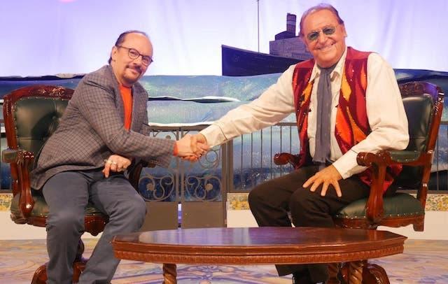 Maurizio Casagrande e Renzo Arbore